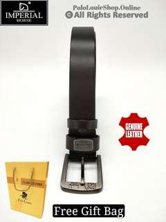 High Quality Original Imperial Horse Genuine Cow Leather Belt Kulit Lembu Smart