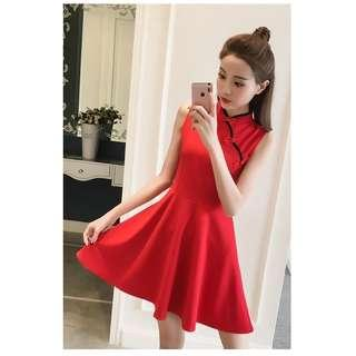 [PO] CNY Sleeveless Dress