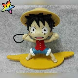 """Anime One Piece Action Figures """" Lufy With Map """""""