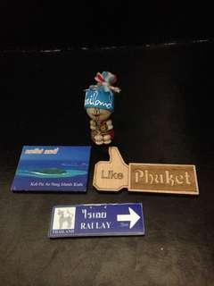 Keychain & Fridge Magnet Original from Thailand