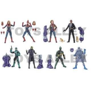 [Preorder] Marvel Legends Series Captain Marvel BAF Kree Sentry Series Case of 8