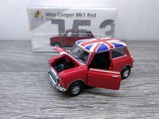 Tiny mini cooper mk1 red