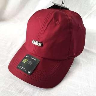 NEW! Authentic Nike Lebron James Aerobill Dark Red Cap / Hat (One Size)