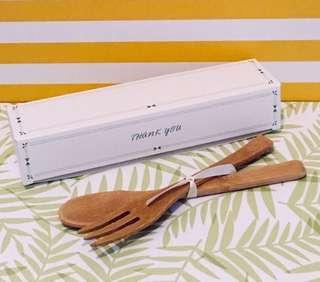 Door gift wooden utensils