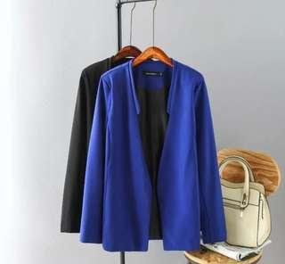 👉👉 INstock 4XL Royal Blue Blazer outerwear