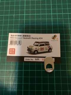 Mini Cooper Hesketh Racing #24 (展會限定)換購卡