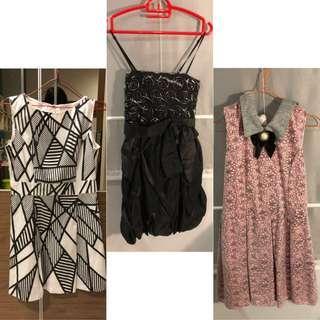 3 DRESS 100rb (Nett)