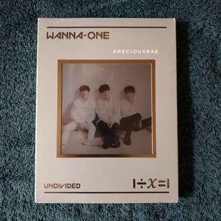 [SEALED] WANNA ONE - UNDIVIDED: LEAN ON ME VER.