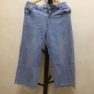 Cotton On Denim Culottes