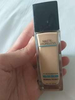 Maybelline foundation matte & poreless no 115