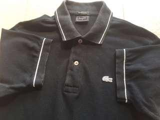Authentic Lacoste Chrome logo limited addition
