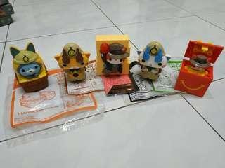 McDonald's happy meal toy yo kai watch