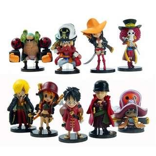 one piece figure set | Other Toys | Carousell Malaysia
