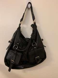 TERRAZZO Italy leather handbag