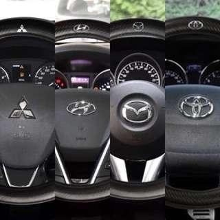 🚚 INSTOCK Various steering wheel covers universal for cars