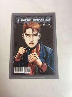 [INSTOCK] EXO THE WAR Version A Postcard