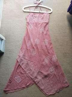 Pink Dress - soft and flowy chiffon