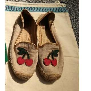 Tory Burch Espadrilles Size 37.5 (runs small for 37)