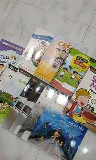 🚚 Primary 3 textbook and workbook (Free book covers)