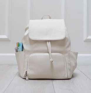 Funnest Insulated White Pump Bag Backpack