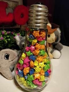 星语心愿瓶(灯泡型)Lucky Stars in the bulb