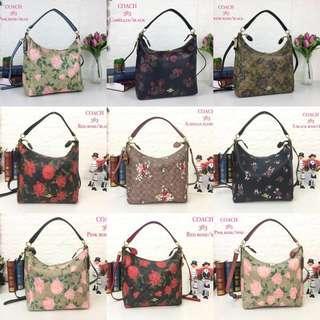 Coach Handbag Large Handbag Flower(FREE POSTAGE)