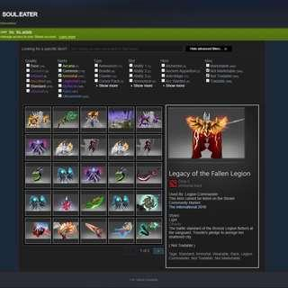 DOTA 2 Account and Item For SALE! (PRICE REDUCED!)