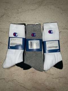3 Pack Champion Socks Authentic