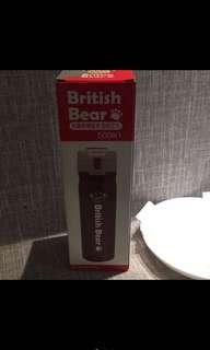 英國熊彈蓋保溫瓶500ml 桃紅