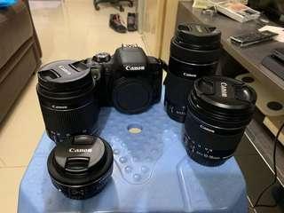 canon800d連4鏡