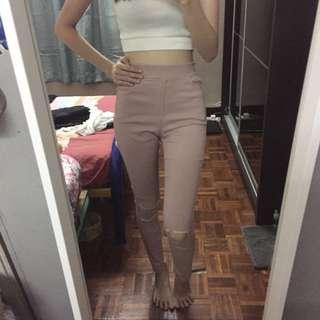 Pre loved dusty pink pants
