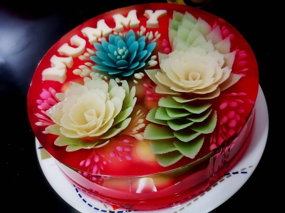 3D Jelly Cake