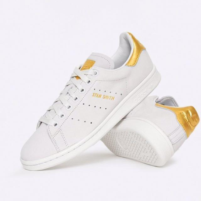 reputable site 81ffd 0785a Adidas Stan Smith 24K Gold, Men's Fashion, Footwear on Carousell
