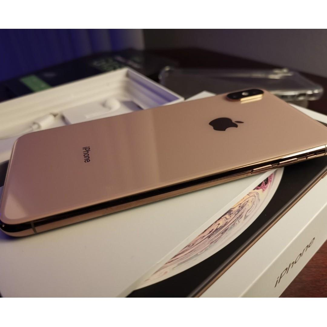 Apple iPhone XS Max - 64GB - Gold (Unlocked)Excellent Clean