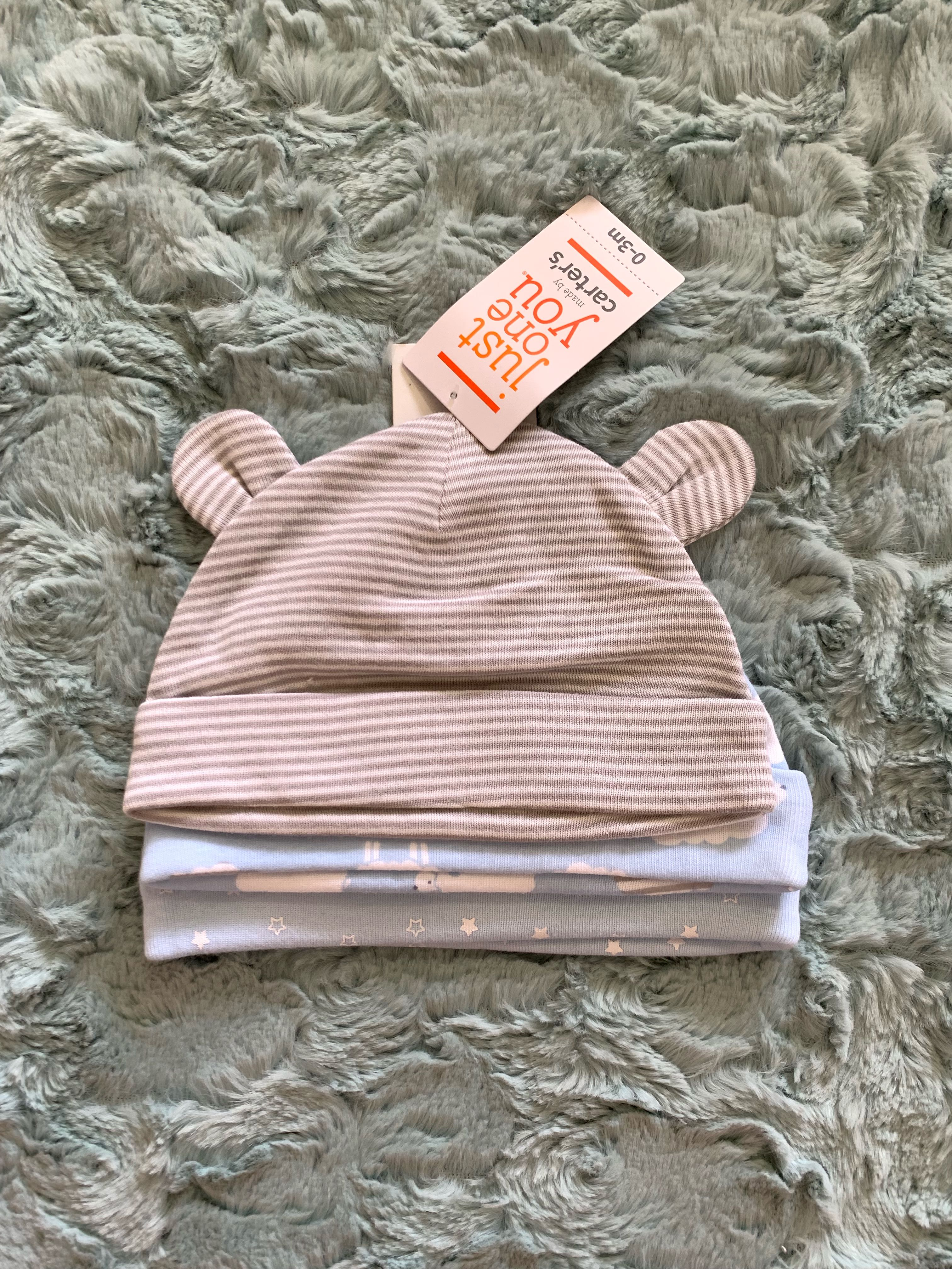 85844f139472 Baby Hat Pack of 3 by Carter s USA on Carousell
