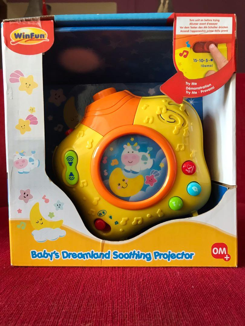 Yellow Winfun Babys Dreamland Soothing Projector