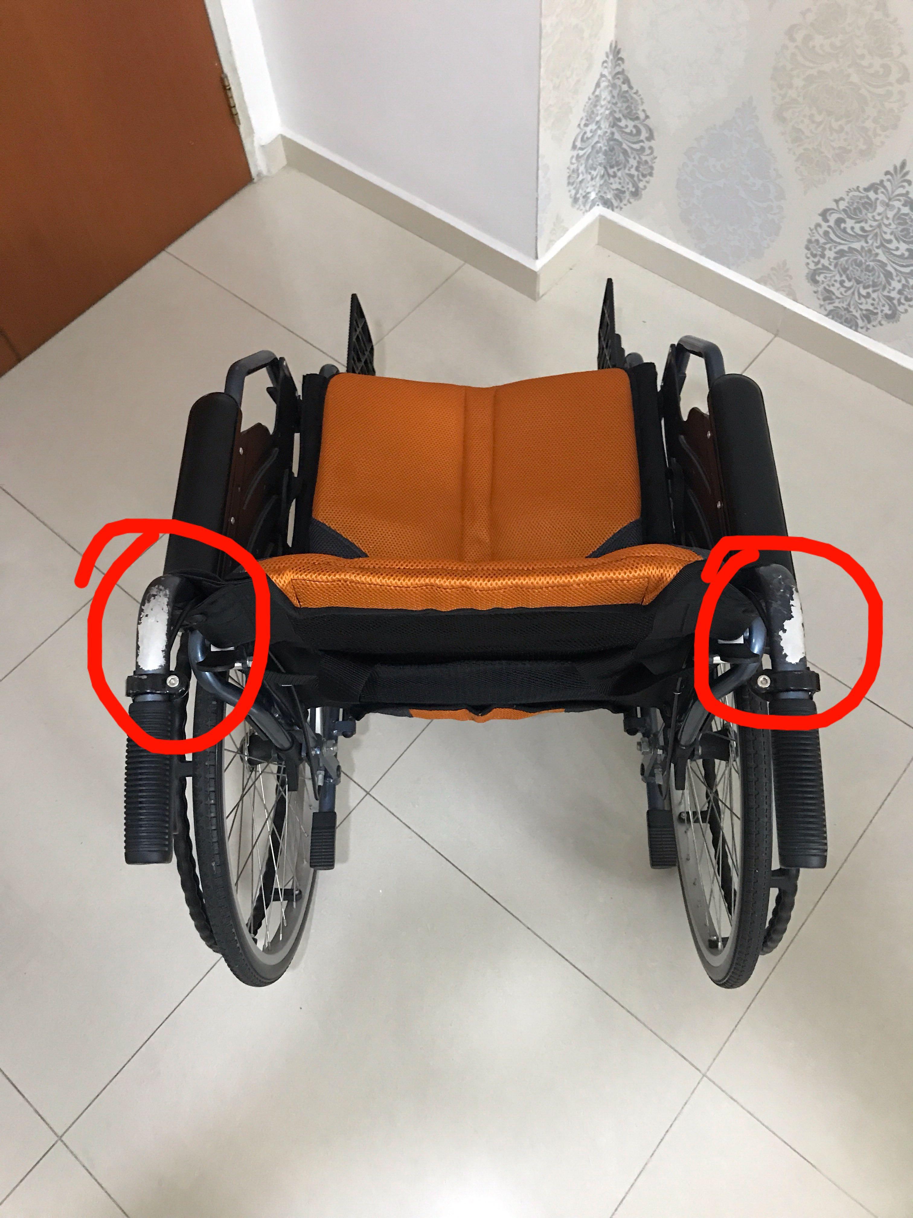 Bion iLight Detachable Wheelchair