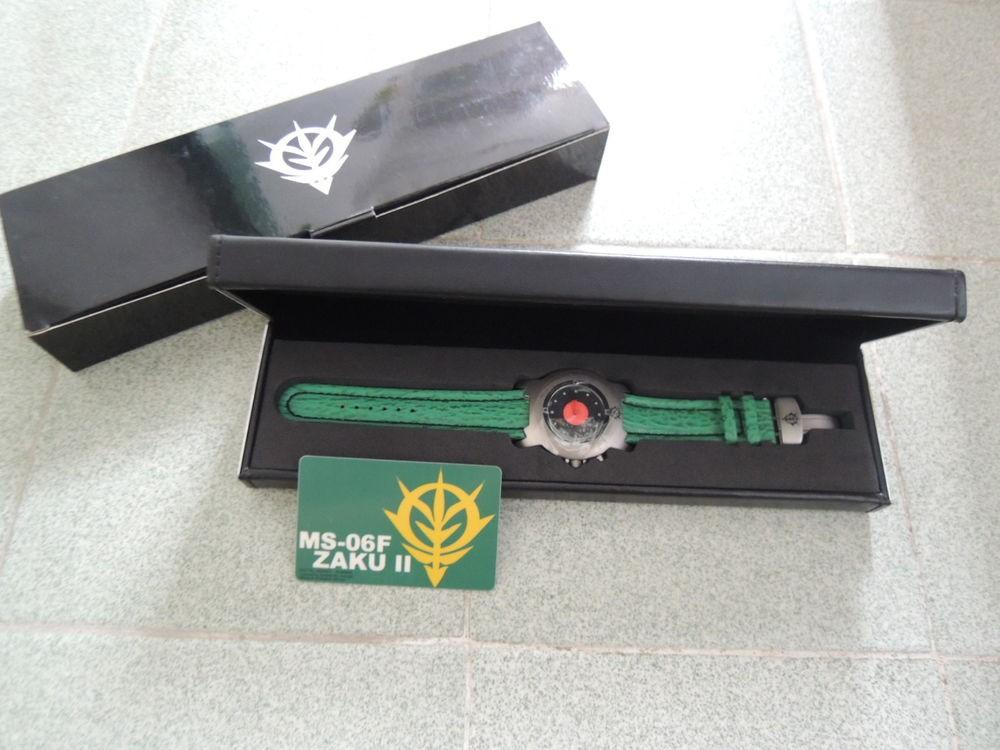 BNIB!!!! NEW Limited Edition Titanium GUNDAM Watch MS-06F ZAKU II