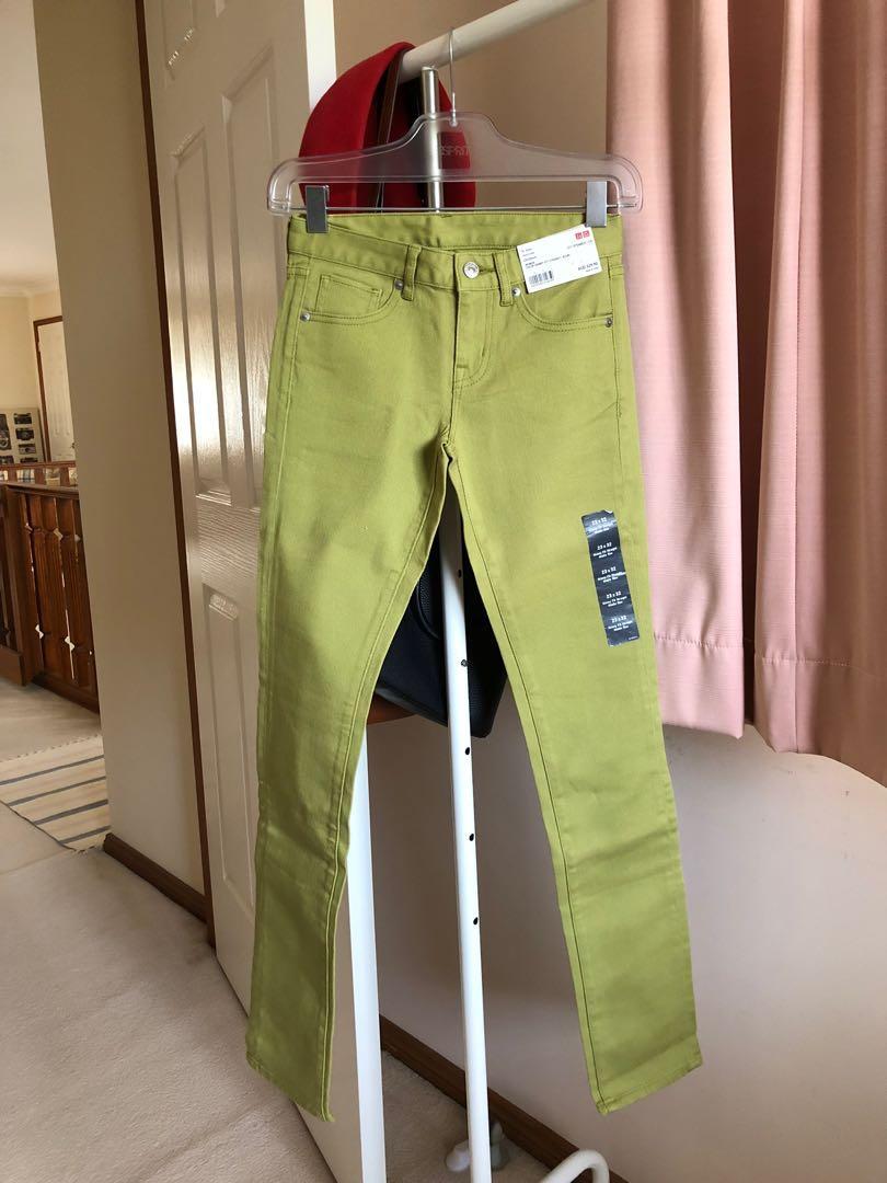 BRAND NEW Uniqlo Green Jeans