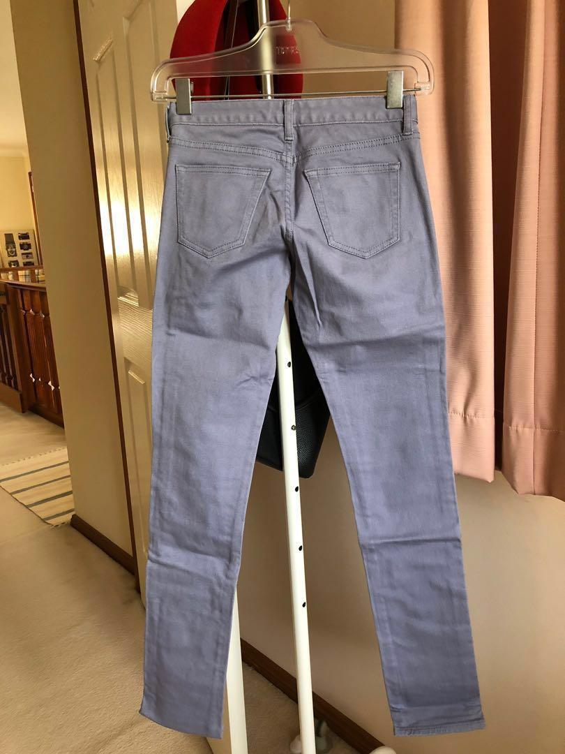 BRAND NEW Uniqlo Light Purple Skinny Jeans