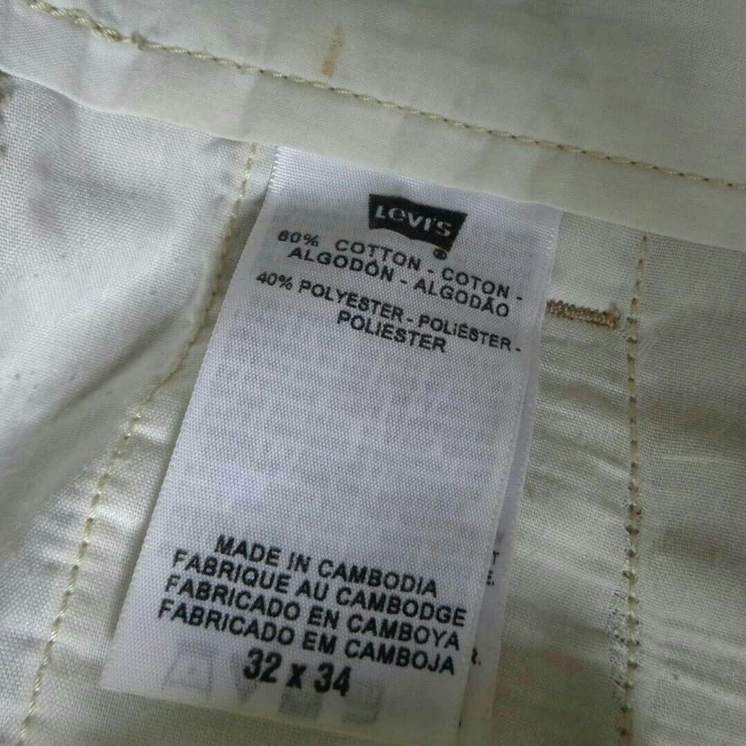 Celana chino levis sta prest