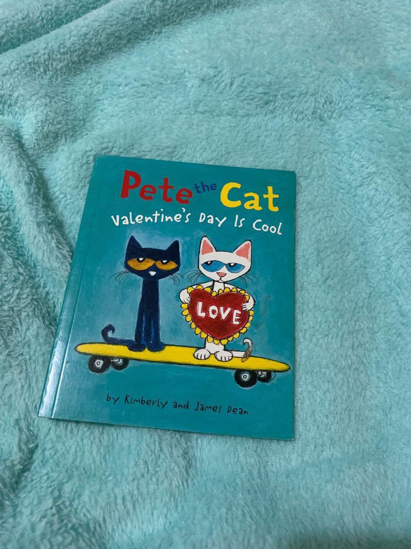 Children's Book: Pete the Cat Valentine's Day Is Cool