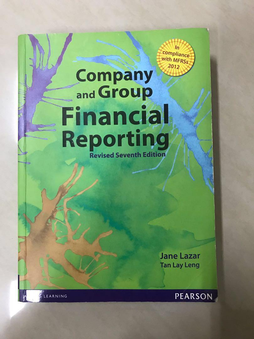 Company and Group Financial Reporting (Revised Seventh Edition) by Jane Lazar, Tan Lay Leng