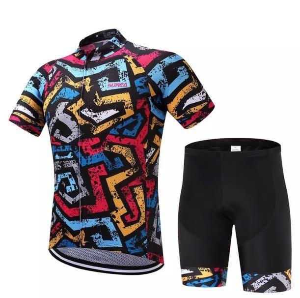 Cycling Jersey and Shorts