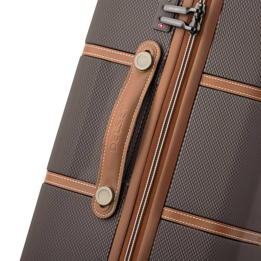 2a04d42c4 Delsey Chatelet Air Chocolate Spinner Case Luggage 77cm, Travel ...