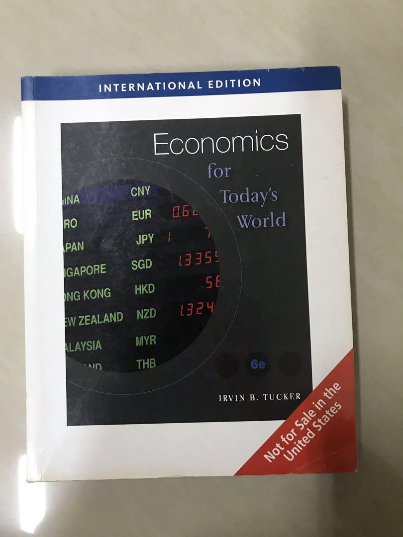 Economics (International Edition) by Irvin B. Tucker