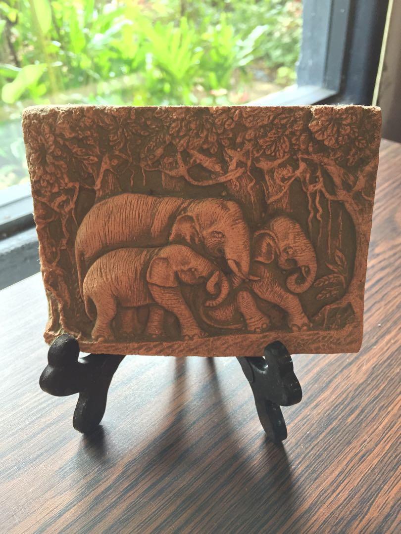 Elephant theme frame - (1)