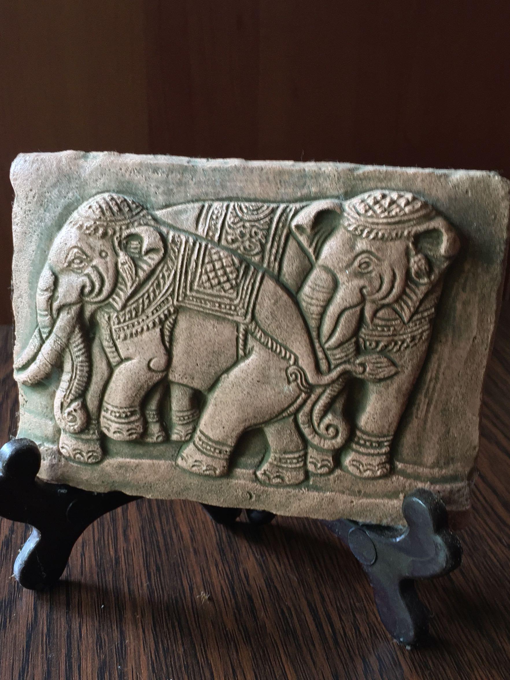 Elephant theme frame - (2)
