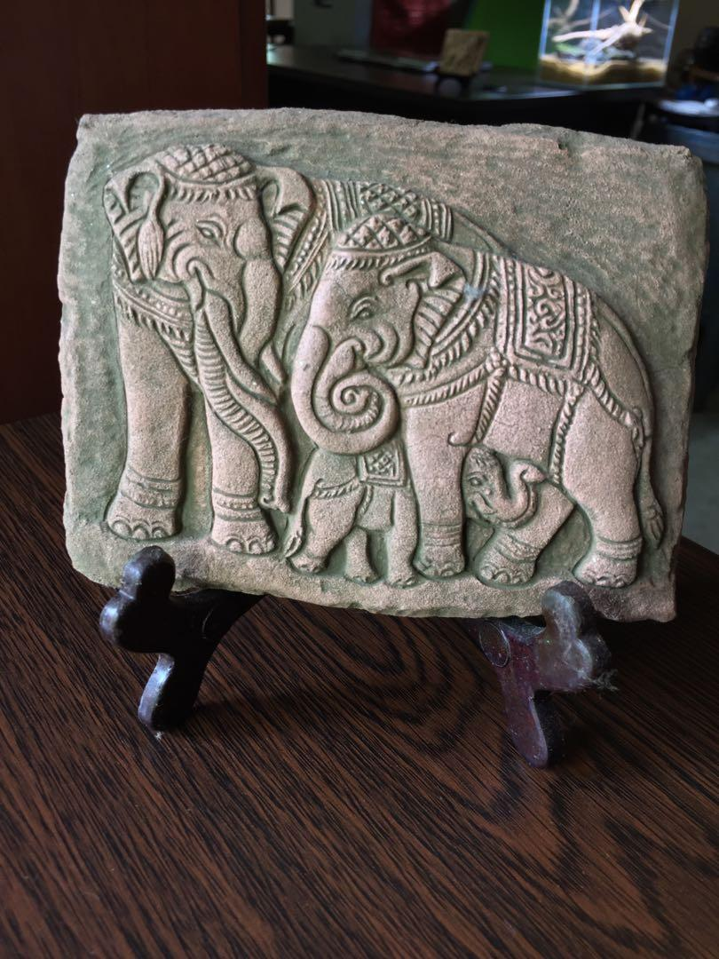 Elephant theme frame - (3)