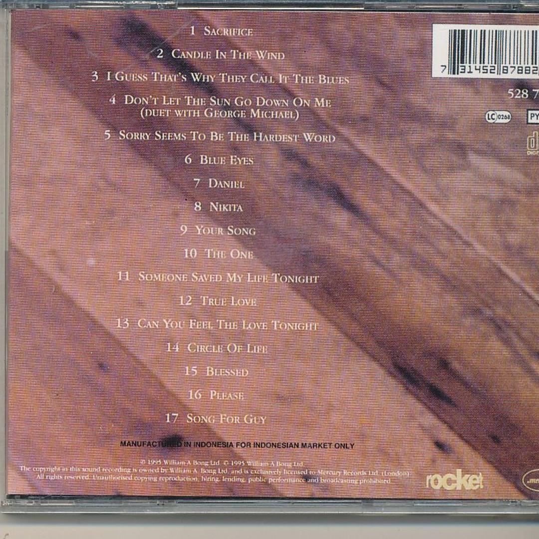 Elton John - Love Songs (AUDIO CD) [z7]*, Music & Media, CDs
